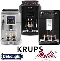 Machines à café avec broyeur de grains: jusqu'à -40% sur Krups, DeLonghi, Melitta, etc.