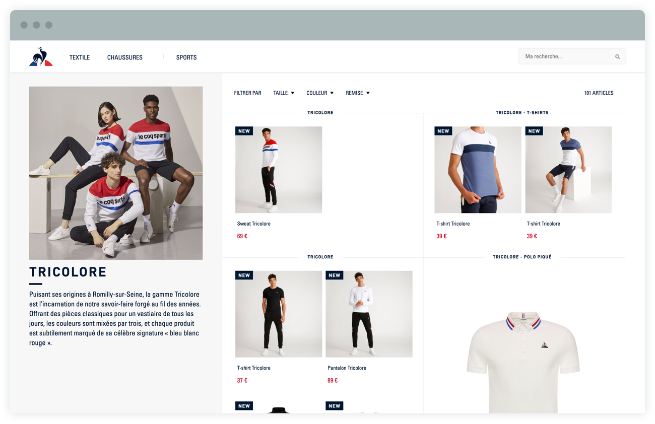 Merchant website