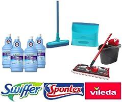 Swiffer, Vileda, Lysol, Spontex: jusqu'à -45% de réduction sur une sélection de produits d'entretien