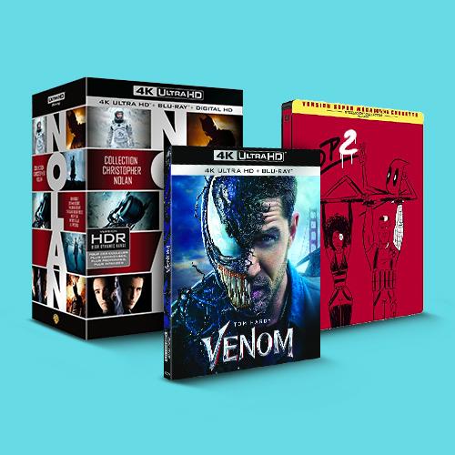 Super-héros et films d'action à -30%
