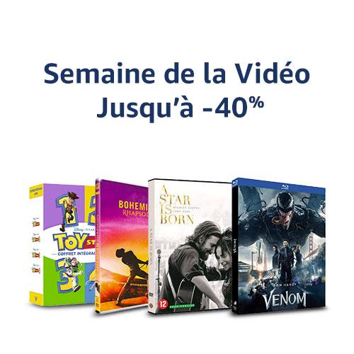 Profitez de plus de 10 000 DVD, Blu-ray et Séries TV jusqu'à -40%