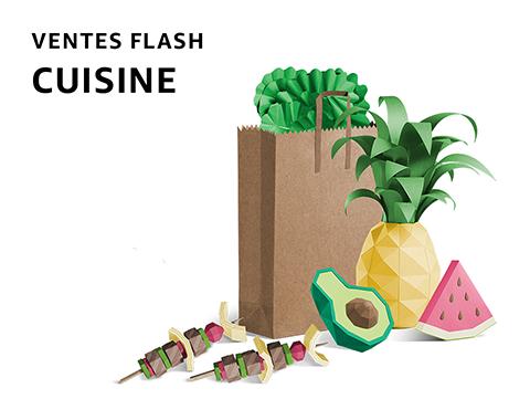 Ventes flash Cuisine