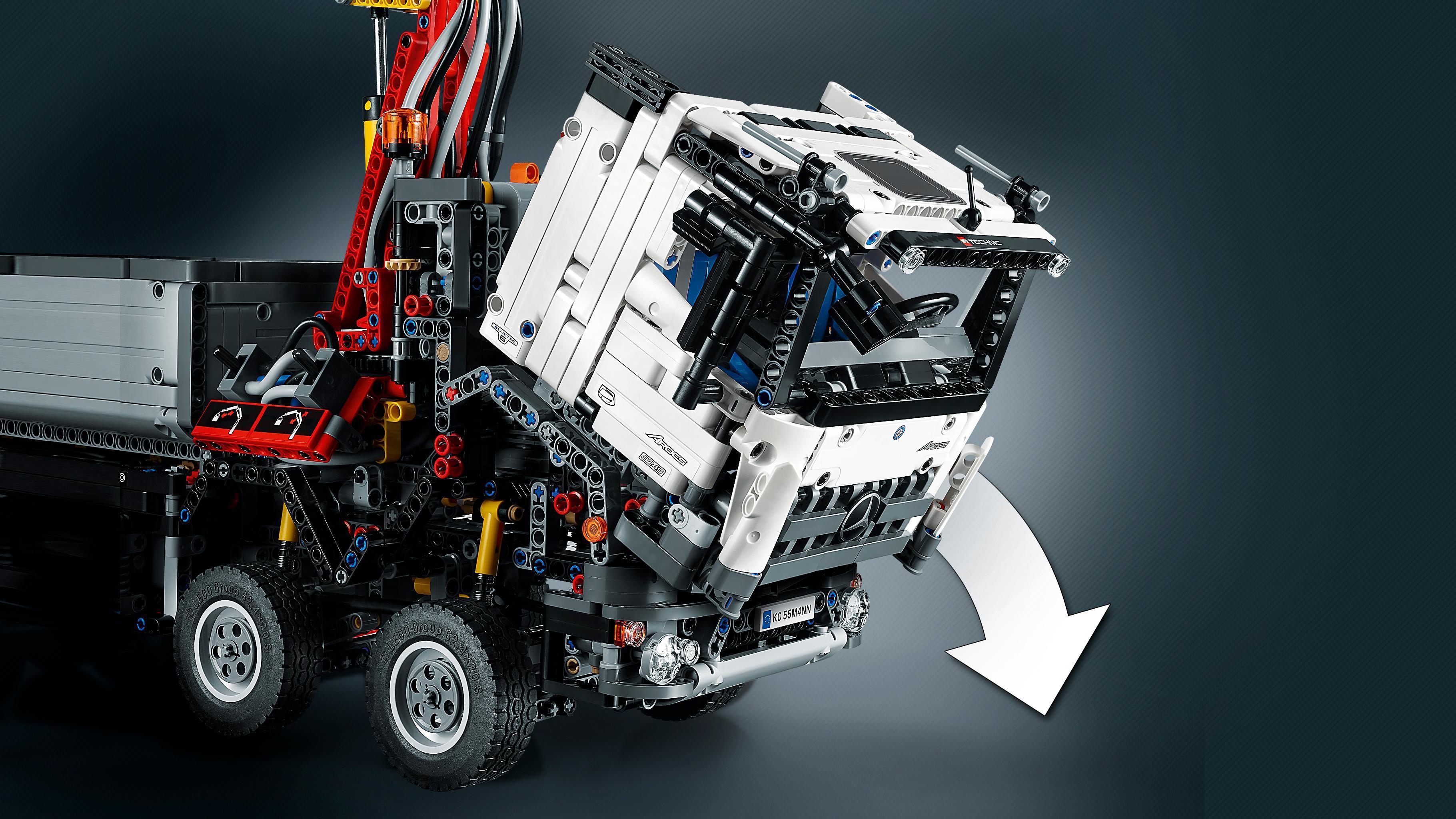 lego 42043 technic jeu de construction mercedes benz arocs 3245 jeux et jouets. Black Bedroom Furniture Sets. Home Design Ideas