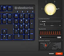SteelSeries Apex M500 Clavier Gaming