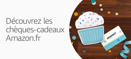 Découvrez les chèques-cadeaux Amazon.fr
