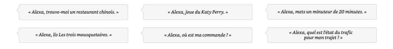Alexa, quel temps fait-il à Paris?