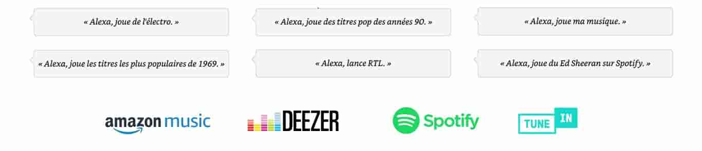 Alexa, joue du Bruno Mars.
