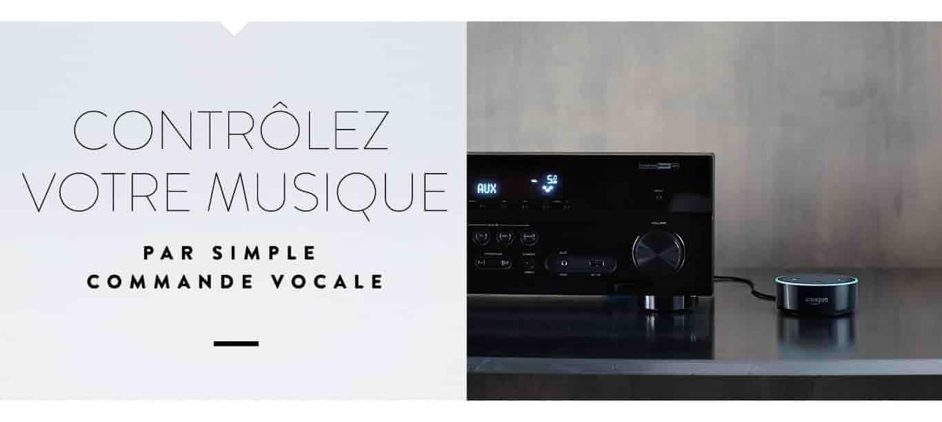 Contrôlez votre musique par simple commande vocale