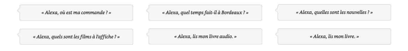 Alexa, quelles sont les nouvelles?