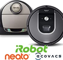 Aspirateurs robot : Jusqu'à -50% sur Irobot, Neato, Ecovacs