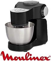 Robot Pâtissier Wizzo avec accessoires QA319810 de Moulinex
