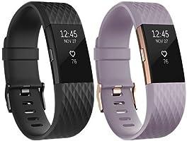 Fitbit - Charge 2 Edition Spéciale - Bracelet d'activité et de suivi de la fréquence cardiaque