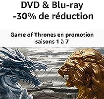 Jusqu'à -30% sur les intégrales des saisons 1 à 7 de Game of Thrones