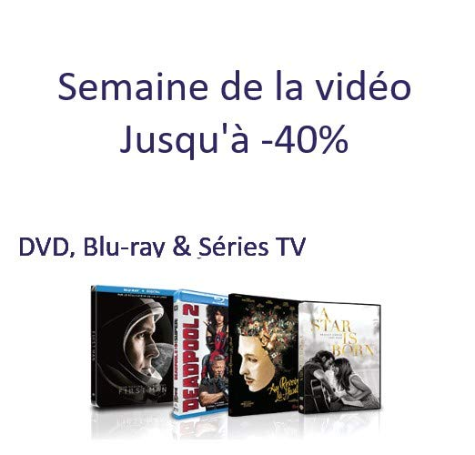Profitez de près de 10 000 DVD, Blu-ray et Séries TV jusqu'à -40%