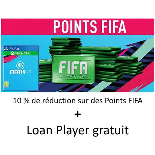 10% de réduction sur des Points FIFA + Loan Player gratuit (PS4 & Xbox)