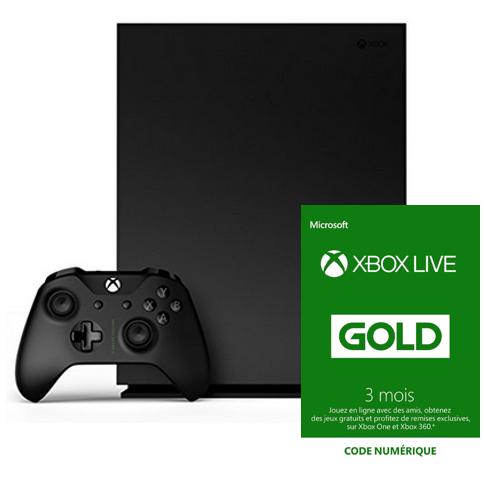 Seulement 11,99€:Abonnement Xbox Live Gold 3 Mois si vous achetez une Console ou Manette Xbox One