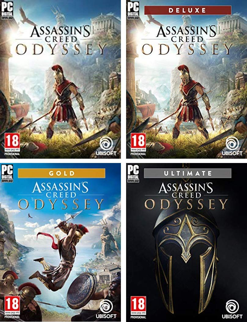 Jusqu'à 50% de réduction : Assassin's Creed Odyssey - Games - PC Download