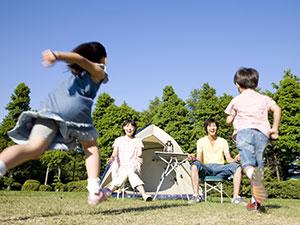 キャンプ初心者ストア 家族で楽しめる