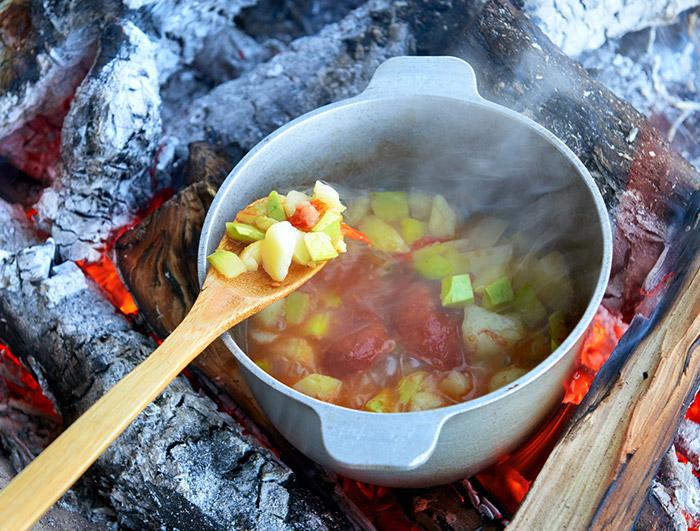 キャンプ料理のまとめ - つくる楽しみ