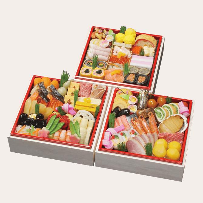 京・料亭 わらびの里のおせち