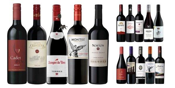 <br />【頒布会3ヶ月コース】ワイン専門店エノテカベストセラー赤ワインセット(5本×3回分 計15本) ZH2-5