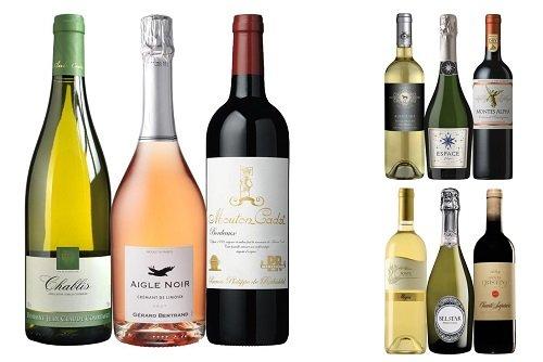 【頒布会3ヶ月コース】世界の銘醸ワイン飲み比べ赤・白・泡 3本セット(3本×3回分 計9本) ZN2-1