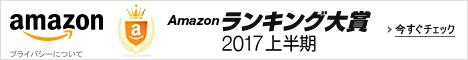 Amazonランキング大賞 2017上半期