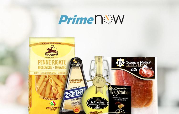 Prime Now - こだわり食品ストア