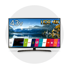 LG 43V型 4K対応液晶テレビ 43UJ630A