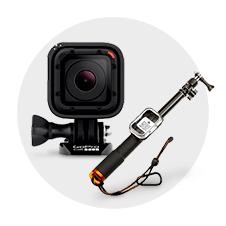 GoPro ウェアラブルカメラ HERO Session CHDHS-102-JP+ Amazonベーシック GoPro用 伸縮ポール LS-300