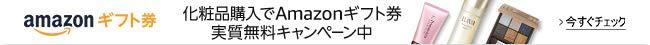 化粧品購入でAmazonギフト券1,000円分が実質無料