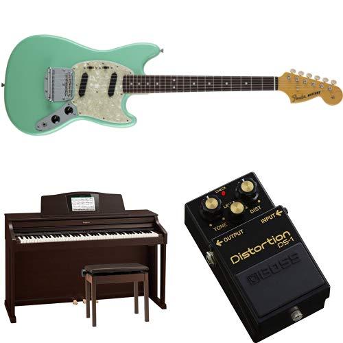 Fenderのギターや、人気の電子ピアノなどがお買い得