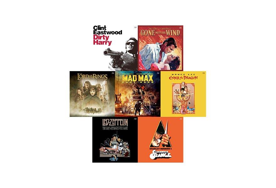 ワーナーブラザース劇場公開80周年記念企画 LPジャケット仕様ブルーレイ