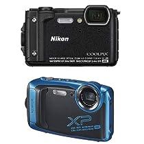 【本日限定】NikonのデジタルカメラやFUJIFILMの防水カメラセットがお買い得