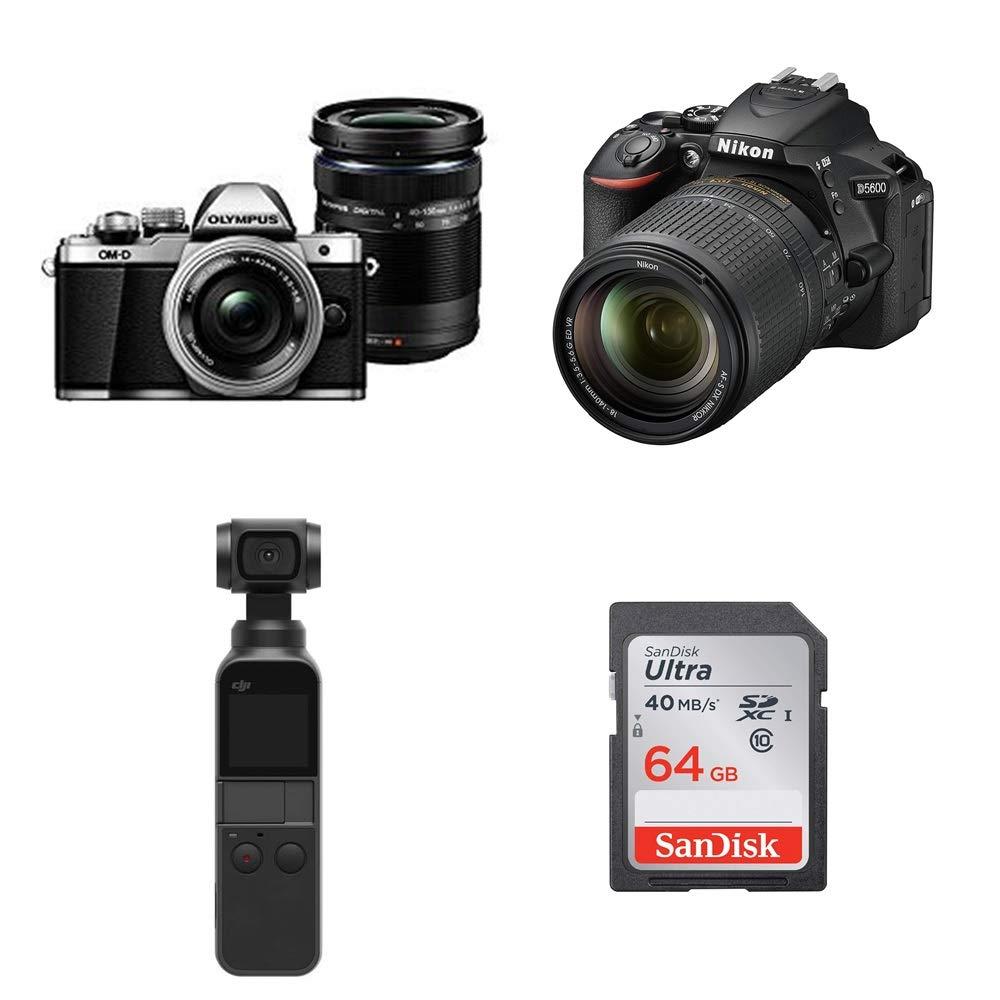 【SDカード実質無料】デジタルカメラ、アクションカメラなどのセットがお買い得