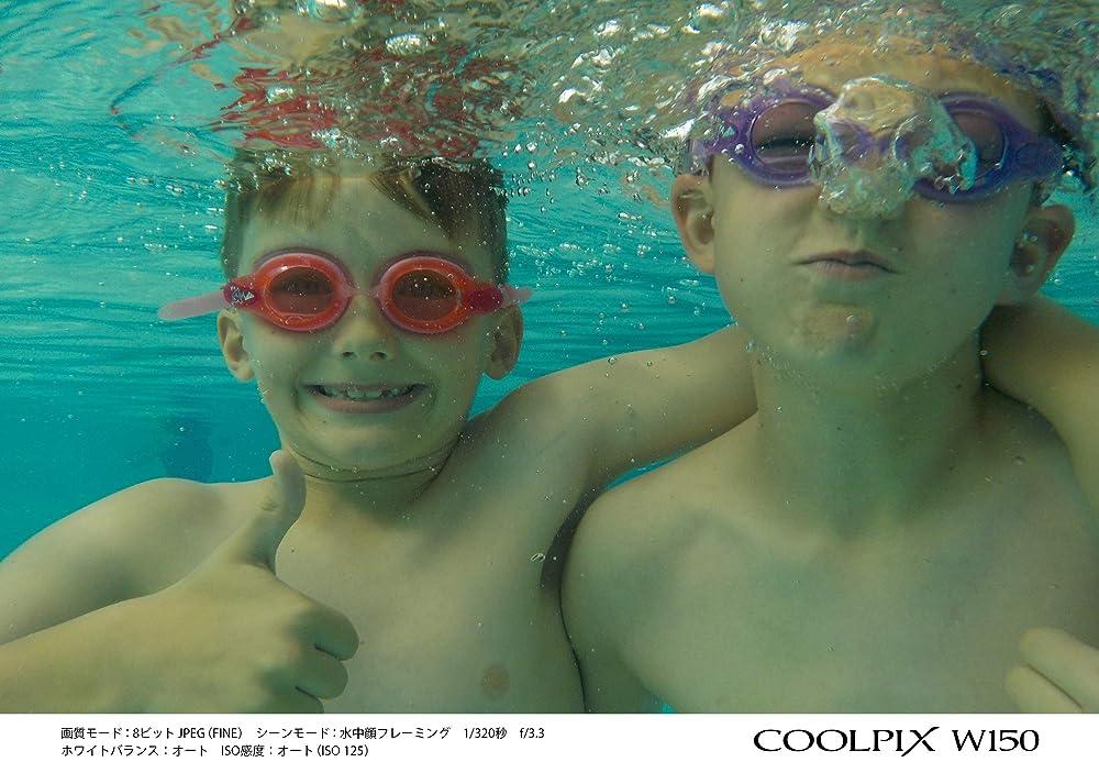 Nikon COOLPIX W150 作例