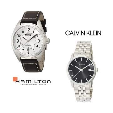 【7/16(火)23:59まで】ハミルトン、カルバン・クラインなど人気のブランド腕時計がお買い得 (4時間限定)