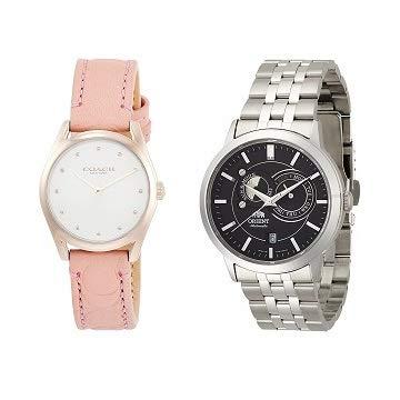 【本日23:59まで】オリエント、コーチ、ニクソンなど人気ブランド腕時計がお買い得