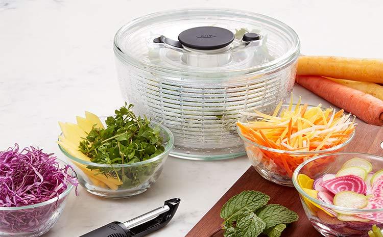 時短料理の幅が広がる、サラダスピナーの使い方