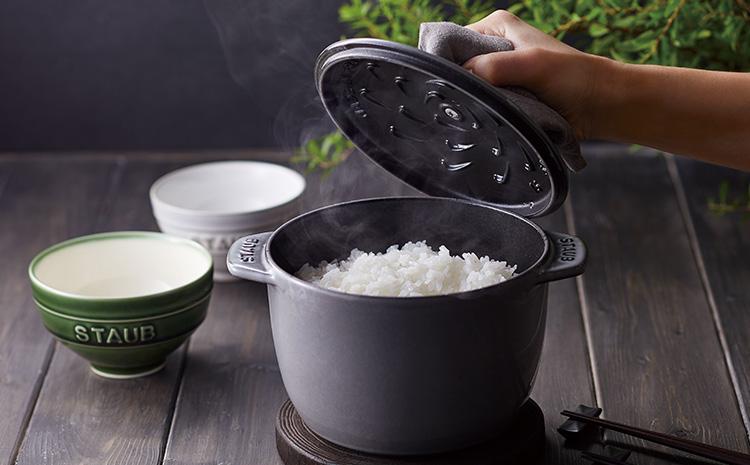 鍋炊きごはんを一膳から by ストウブ
