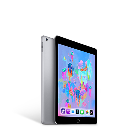 Apple iPad (Wi-Fi, 32GB) - スペースグレイ&