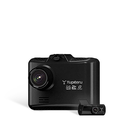 【Amazon.co.jp 限定】WDT500 前後2カメラ搭載エントリーモデル WDT500 (シガープラグコード OP-E1109)セット&