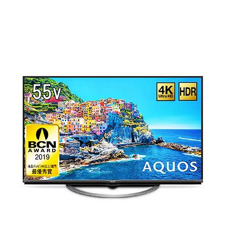 シャープ 55V型 液晶 テレビ AQUOS&