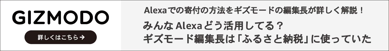 Alexaでの寄付の方法をギズモードの編集長が詳しく解説!