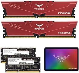 Team製のPCメモリやノートPCメモリ・SSDなどがお買い得