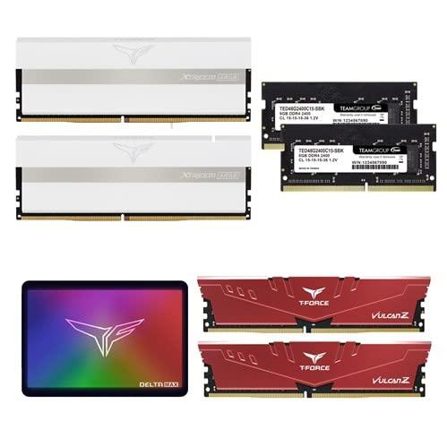 TeamのPCメモリやゲーミングPCメモリとSSDなどがお買い得; セール価格: ¥850 - ¥44,980