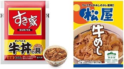 松屋&すき家の牛丼・カレーなど豪華セット特集