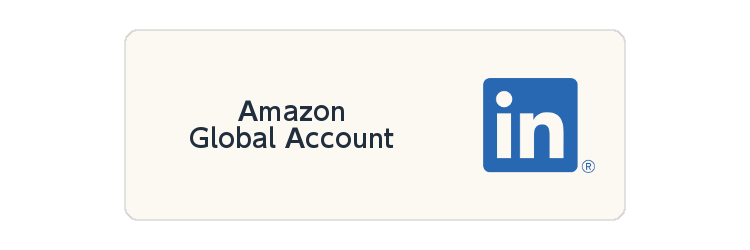 Linkedin Amazon Global Account