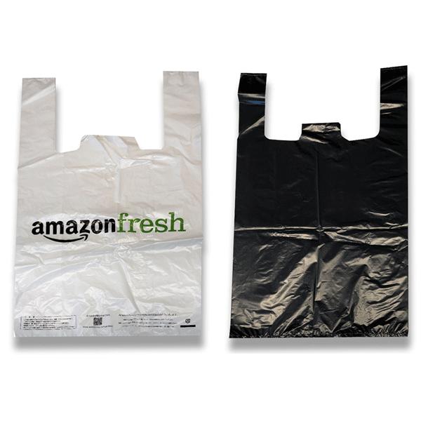 ビニール袋 - 黒または白