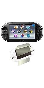 PlayStation Vita Wi-Fiモデル ブラック (PCH-2000ZA11) 【Amazon.co.jp限定特典】CYBER液晶&背面タッチパッド 保護フィルム (指紋防止タイプ)付